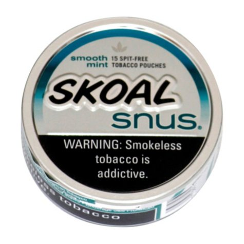 Skoal Snus Smooth Mint - 5 can roll