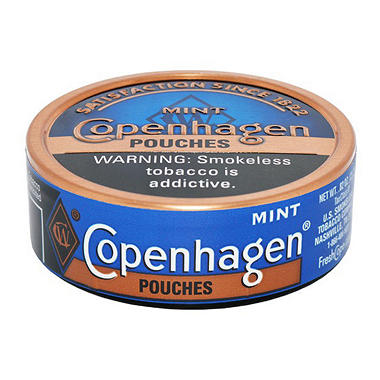 Copenhagen Pouches, Mint (5 can roll)