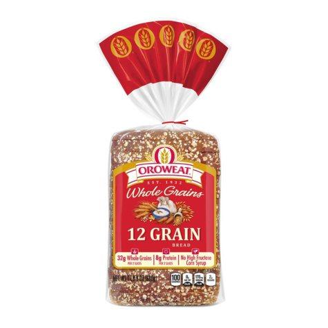 12 Grain Whole Grains Bread (24 oz.)