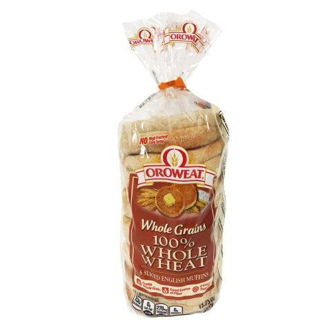 Oroweat Whole Wheat English Muffins (6 ct., 13 oz.)