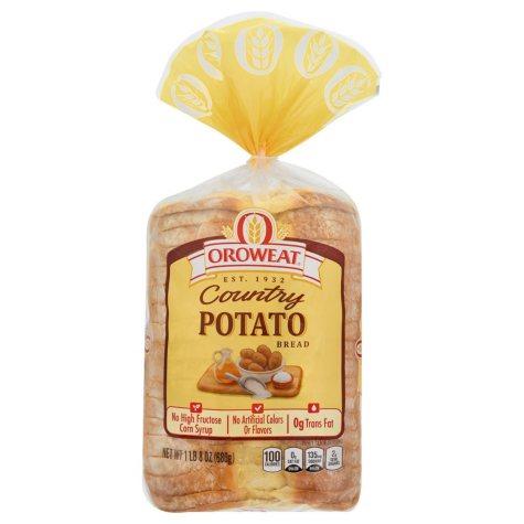 Oroweat Country Potato Bread - 24 oz. - 2 pk.