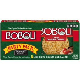 Boboli Party Pack, Mini Pizza Crust Includes Sauce (8 ct.)