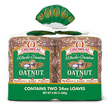 Oroweat® Oatnut® Original Bread - 2/24oz