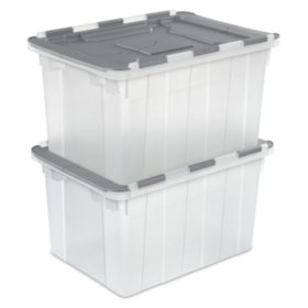 Sterilite 12 Gallon Hinged Lid File Boxes (2 pk.)