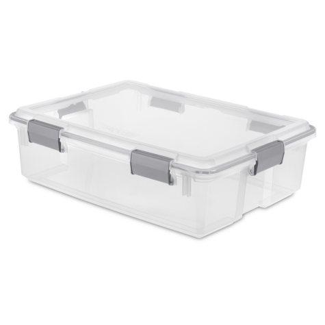 Sterilite 37-Quart Gasket Box