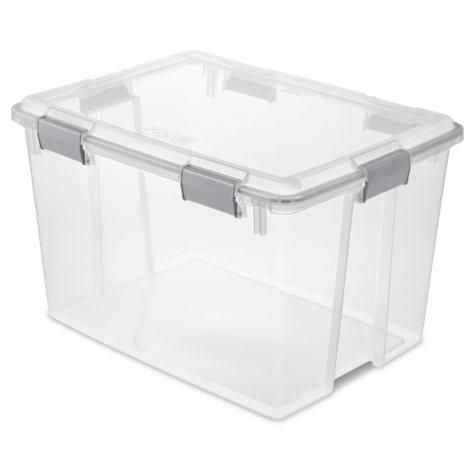 Sterilite 80-Quart Gasket Box