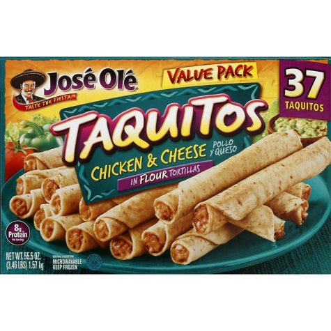 José Olé Chicken and Cheese Taquitos (55.5 oz., 37 ct.)