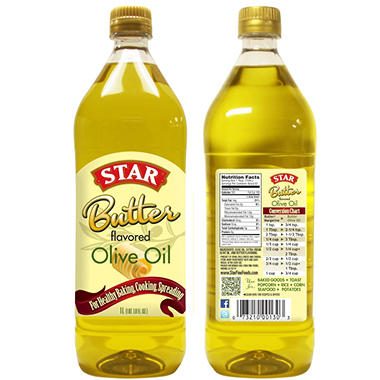 Star Butter Olive Oil - 1L