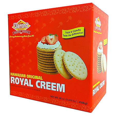 Hawaiian Original Royal Creem Crackers (10 oz., 3 pk.)