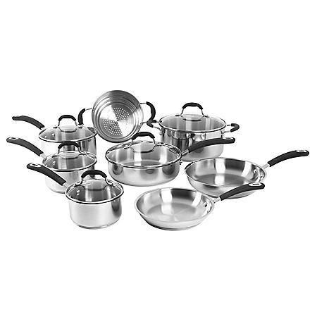 Oneida 13-pc. Stainless Steel Cookware Set
