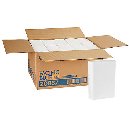 Pacific Blue Ultra™ Big Fold Z® Premium Paper Towels, 220 Towels, 10 Packs (20887)