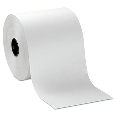 Georgia Pacific Professional - Hardwound Roll Paper Towels, 7 4/5 x 1000ft, White -  6 Rolls/Carton