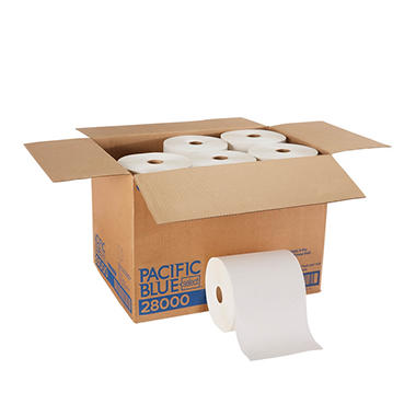 Georgia Pacific - Signature, Roll Paper Towels, 350 Ft. Rolls - 12 Rolls