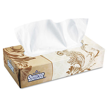 Quilted Northern - Premium Facial Tissue,  - 125 Sheets Per Box - 30 Boxes