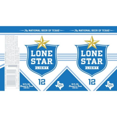 Lone Star Light Beer (12 fl. oz. can, 12 pk.)