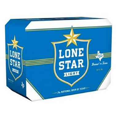 Lone Star Light Beer (12 fl. oz. can, 18 pk.)