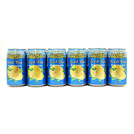 Aloha Maid Natural Iced Tea (11.5 oz. ea., 24 ct.)