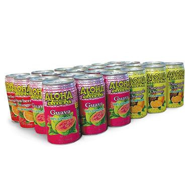 Aloha Maid Assorted Juice Pack (11.5 oz. cans, 24 pk.)