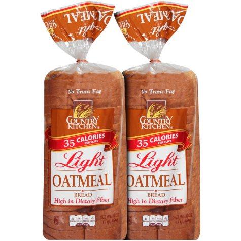 Country Kitchen Light Oatmeal Bread - 32 oz. - 2 pk.