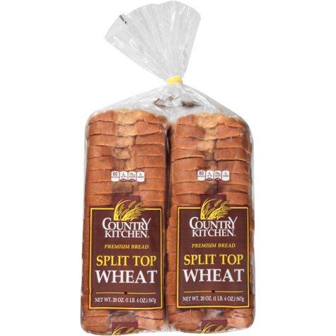 Country Kitchen Buttersplit Wheat Bread (40 oz., 2 pk.)