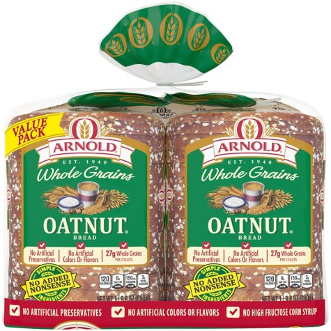 Brownberry Oatnut Bread - 24 oz. - 2 pk.