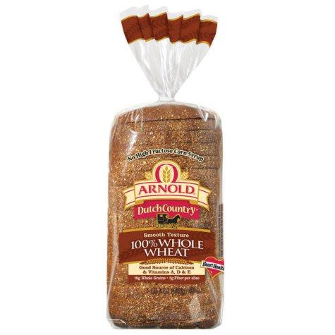 Arnold 100% Whole Wheat Bread - 24 oz.