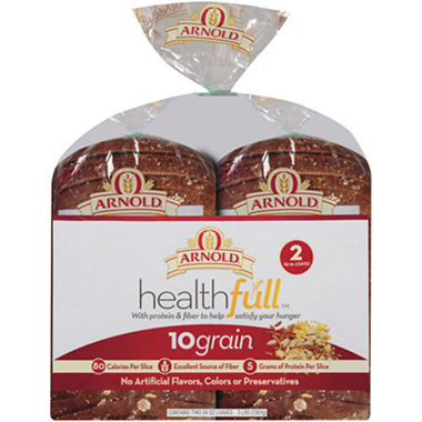 Healthful 10 Grain Bread