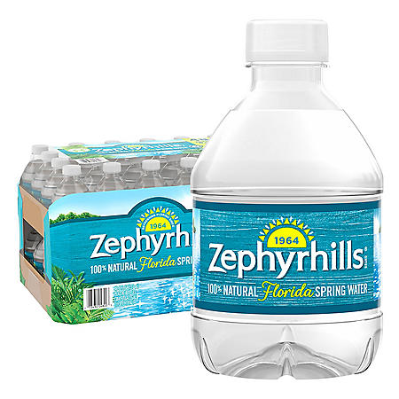 Zephyrhills 100% Natural Spring Water (8oz / 48pk)