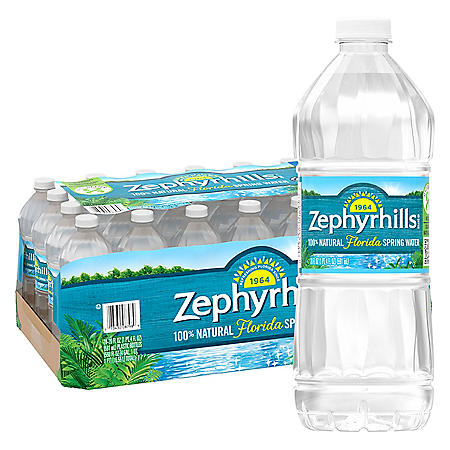 Zephyrhills 100% Natural Spring Water (20oz / 28pk)