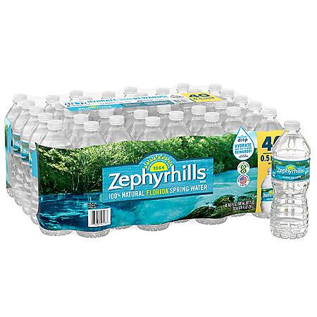 Zephyrhills 100% Natural Spring Water (16.9 oz., 40 pk.)