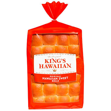 King's Hawaiian Sweet Dinner Rolls - 24 ct.