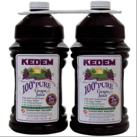Kedem 100% Grape Juice - 1/96oz