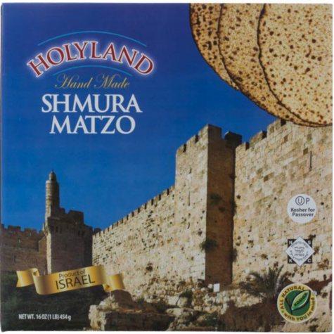 Holyland Shmura Matzo (16 oz.)