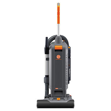 Hoover Commercial HushTone Vacuum Cleaner, Orange/Gray (15