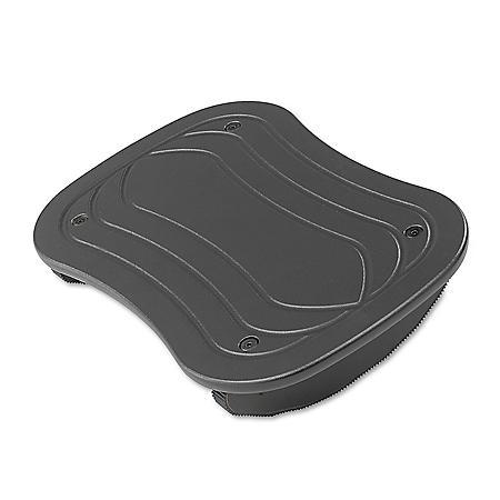 Safco Rock-N-Stop Adjustable Foot Rest, Black