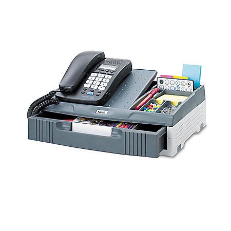 Safco Telephone Stand Organizer, Gray