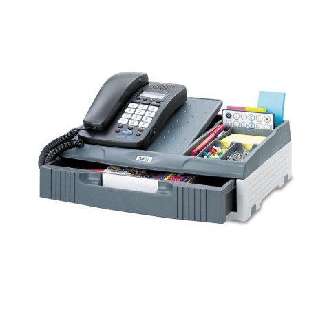Safco Telephone Stand Organizer, Gray