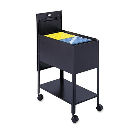 Safco Extra-Deep Locking Top Mobile Tub File, Select Color