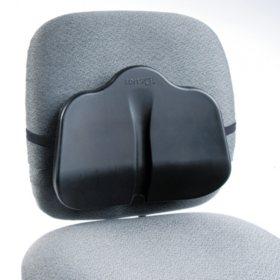 Safco SoftSpot Low Profile Back Rest Cushion, Black