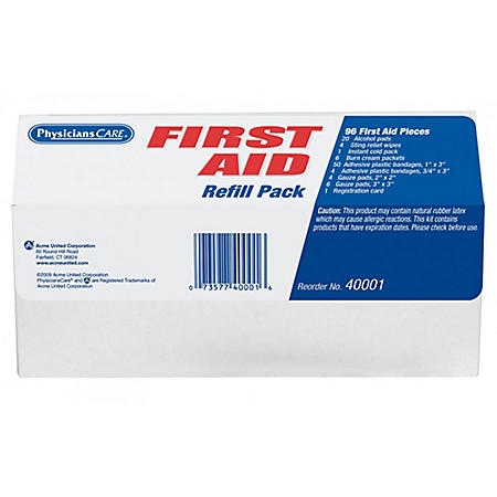 First Aid Only Basic First Aid Refill Kit
