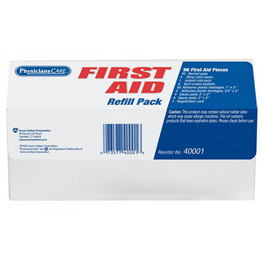 Physicians Care First Aid Kit - 94 Pc. Refill