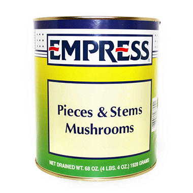 Empress Pieces & Stems Mushrooms (68 oz.)