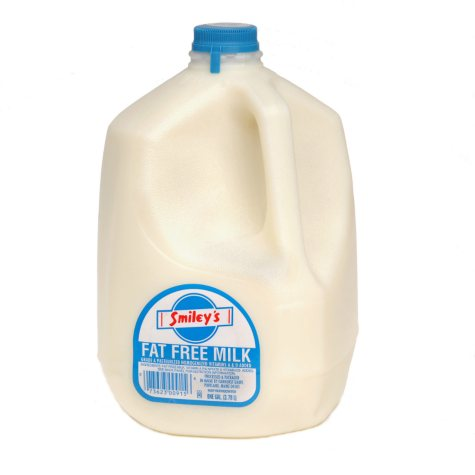 Smiley's Fat Free Milk (1 gal.)