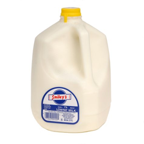 Smiley's 1% Low Fat Milk (1 gal.)