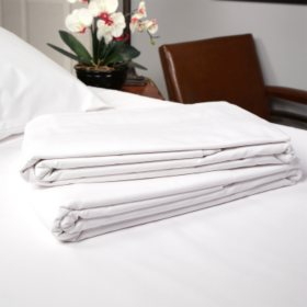 Riegel 200TC Sheets - 12 pk White Flat and Fitted