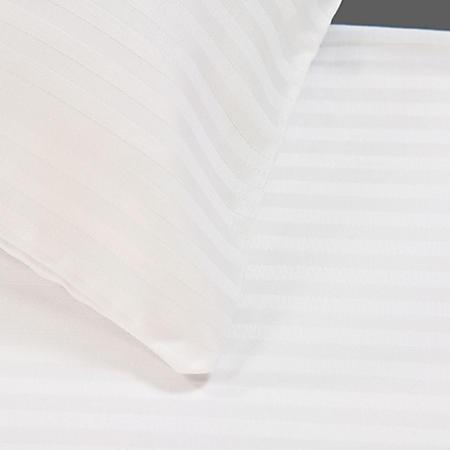 Riegel 300TC Satin Stripe Queen Fitted Sheet -12pk