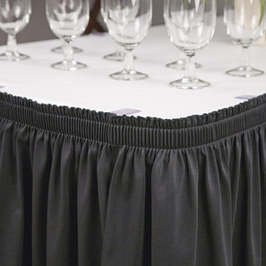 Riegel Polyester Shirred Table Skirting - 30