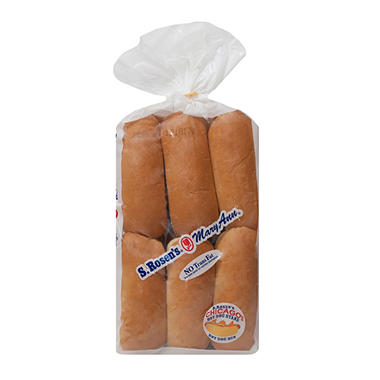 Mary Ann Plain Hot Dog Buns (12 ct., 22 oz.)