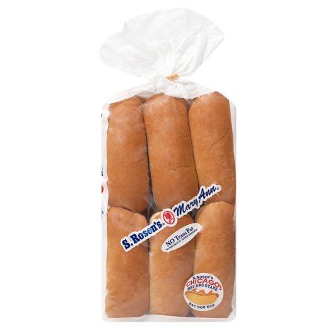 Mary Ann Plain Hot Dog Buns (12 ct., 22 oz.)