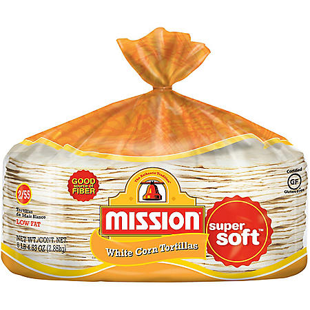 Mission White Corn Tortillas (50.27oz / 2pk)